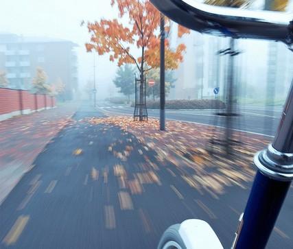 ロードバイク練習